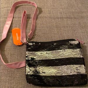Handbags - Reversible sequins bag small